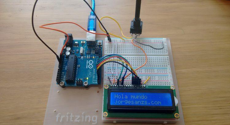 Montaje LCD 1602 Arduino UNO